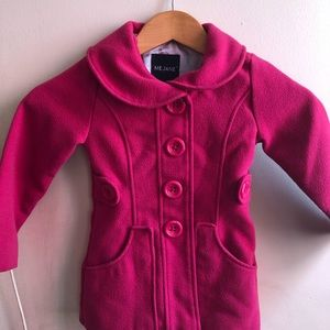 Pink Dress Coat for Girl